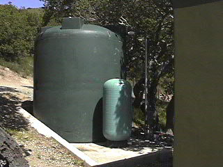 well water tank